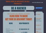 Giao diện của trang web BeAHacker.