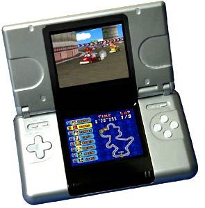 Máy chơi game cầm tay hai màn hình của Nintendo.