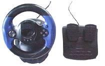 Bộ sản phẩm của Foston gồm một tay lái và một pedal.