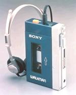 Sony Walkman một thời chiếm lĩnh thị trường.