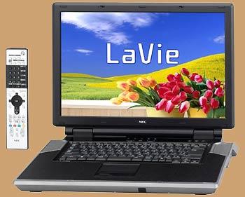 Máy tính xách tay màn hình rộng LaVie của NEC.