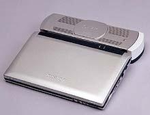 Mẫu máy tính xách tay sử dụng pin nhiên liệu gắn kèm.