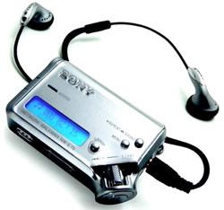 Máy MP3 của Sony.