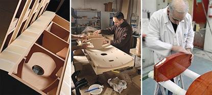 Quá trình chế tác loa Sonus Stradivari.