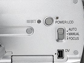 Có rất ít nút điều khiển trong khoang chứa màn hình.