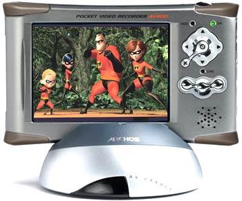 Archos AV4100 thuộc vào hàng 'khủng long' với dung lượng 100 GB.