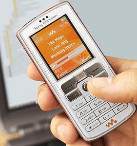 Sony Ericsson W800i.