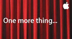 Thư mời của Appe, nền là tấm màn sân khấu còn khép kín.