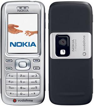 6234 khác với 6233 ở chỗ thân máy phía sau có màu đen và logo của Vodafone.