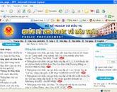 Website Quản lý Nhà nước về đấu thầu.