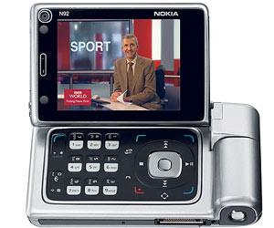 N92 - điện thoại đầu tiên hỗ trợ chuẩn DVB-H.