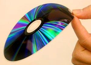 Đĩa DVD dày chưa đầy 0,1 mm
