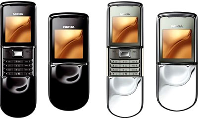 Nokia 8800 Sirocco Edition. Ảnh: Mobile-review
