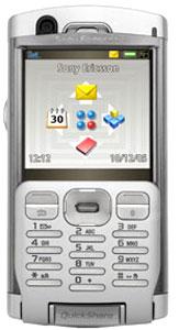 Màn hình ... màu. Ảnh: Sony Ericsson.
