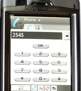 Bàn phím ảo trên màn hình. Ảnh: Mobile-review.