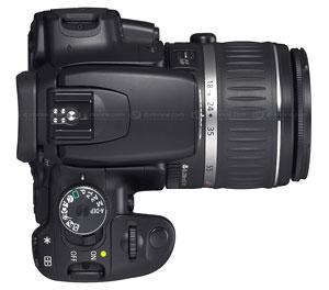 EOS 400D hỗ trợ đa dạng ống kính.