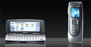Nokia 9300, một mẫu smart phone của Nokia. Ảnh: Nicholas.