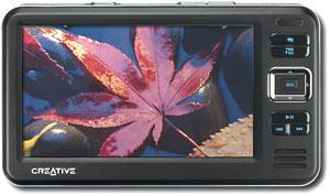 Zen Vision W. Ảnh: Gizmodo.