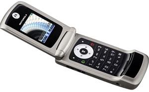 Motorola W220. Ảnh: Media.