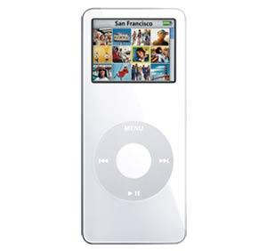 iPod Nano 2G phiên bản 2 GB. Ảnh: Yeehoo.