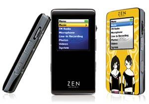 Creative Zen Neeon 2. Ảnh: Mobile-review.