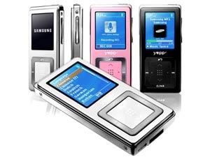 Samsung YP-Z5F. Ảnh: Unobtainable.