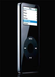 iPod Nano 2G phiên bản 8 GB màu đen. Ảnh: Nuffgigs.