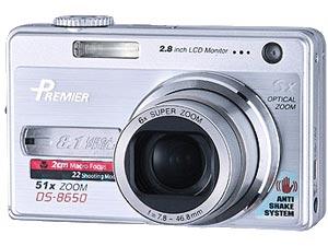 DS-8650 với độ phân giải 8,1 Megapixel.
