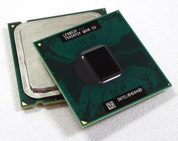 Chip lõi kép của Intel.