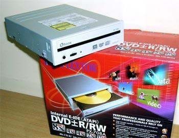 Một loại ổ ghi DVD của Plextor.