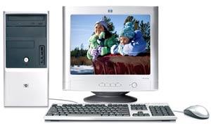 Máy tính HP Pavilion G1256L. Ảnh: Digiworld.