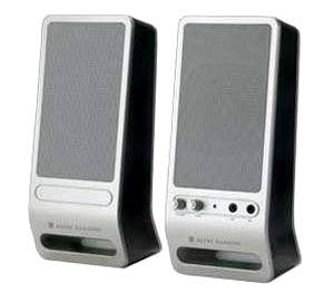Altec Lansing VS-2320 với hai loa trái, phải. Ảnh: Electronics.