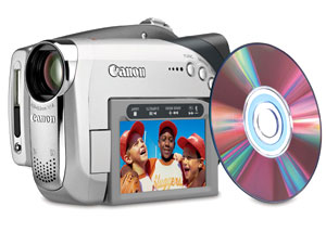 Máy quay Canon DC22. Ảnh: Digitalcamcordernews.