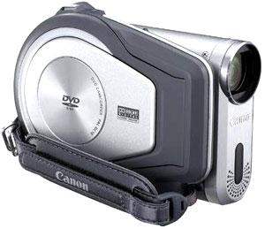 Máy quay sử dụng đĩa DVD đường kính 3 inch. Ảnh: Digitalcamerawarehouse.
