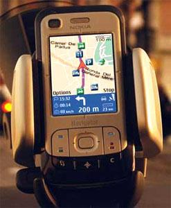 Nokia 6110 trên xe hơi. Ảnh: Mobiletechreview.
