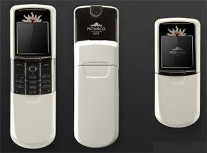 Nokia 8800 phiên bản Monaco màu đen.