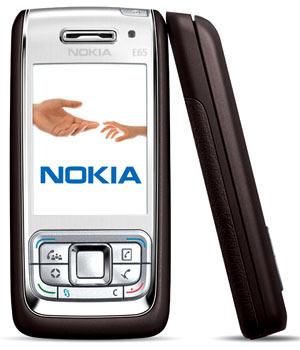 Nokia E65 nhỏ gọn. Ảnh: IXBT.
