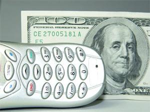 Thanh toán qua SMS. Ảnh: Mopocket.