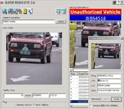 Hệ thống Vcon quản lý biển số xe.