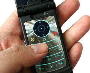 Bàn phím truyền thống của các điện thoại Motorola đời mới. Ảnh: Mobile-review.