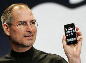 Giám đốc điều hành Apple giới thiệu iPhone. Ảnh: Gizmodo.