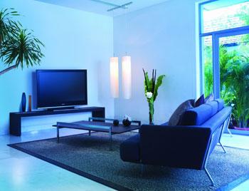 Sản phẩm mới của Sony phù hợp với mọi không gian bài trí của căn phòng. Ảnh: Sony Việt Nam.