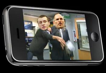 DVD Jon và Steve Jobs. Ảnh minh họa của EnGadget.