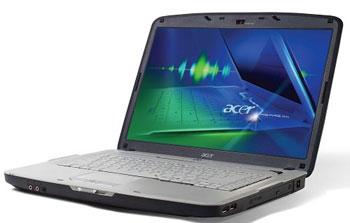 Aspire 5710Z được sở hữu thiết kế khung mới được cải tiến của Acer.