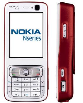Nokia N73 có camera 3,2 Megapixel. Ảnh: Samstore.