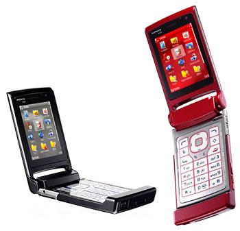 Nokia N76 dáng gập. Ảnh: Mad4mobilephones.