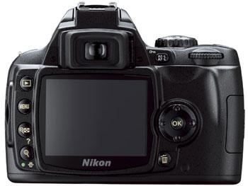 D40x có màn hình LCD 2,5 inch. Ảnh: Cnet.