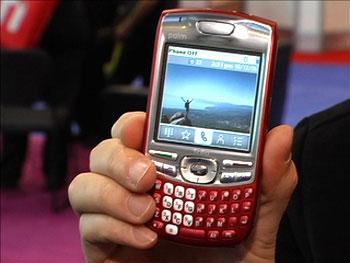 Palm Treo 680 nhiều màu sắc. Ảnh: Cnet TV.