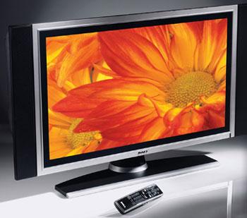 Số TV LCD tiêu thụ trong quý I/2007 tăng 90% so với cùng kỳ năm ngoái. Ảnh: Reghardware.