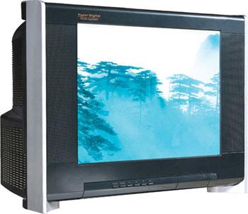 Thị phần lớn nhất mà TV CRT đang nắm giữ có thể sẽ phải nhường lại cho TV LCD. Ảnh: Realelectronicprops.